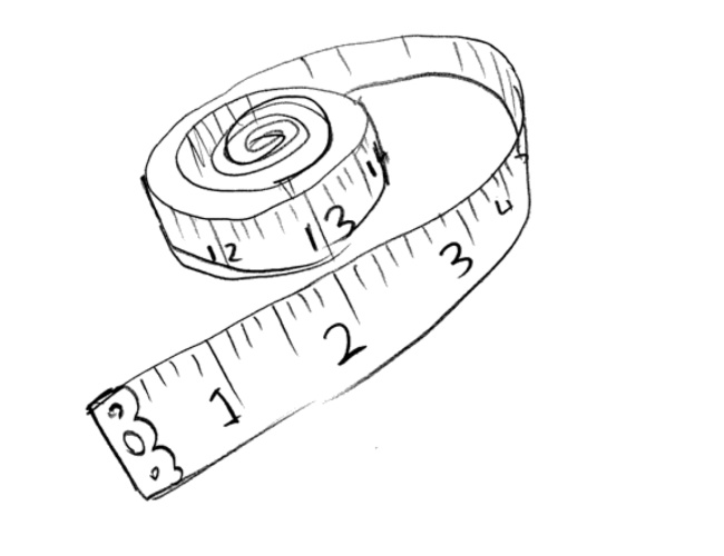 small measureing tape