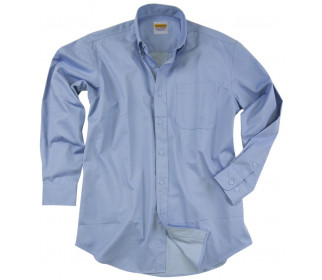 Long sleeve shirt with button-down collar
