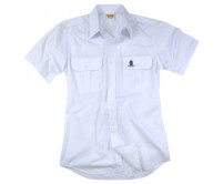 Cadet style Pocket shirt with Stand Collar