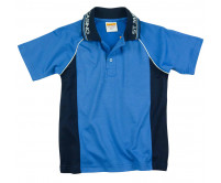 Raglan Splice Panel Polo