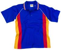Raglan Sleeve Polo Shirt