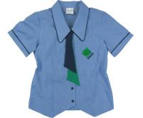 Tab Tie School Blouse