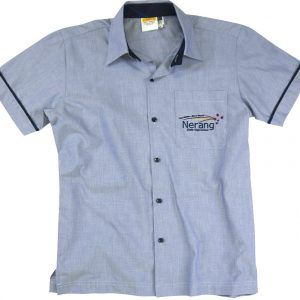 0404 e1396510651261 300x300 - Yarn Dye short sleeve shirt with contrast collar