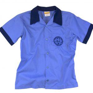 0423 e1396362385605 300x300 - Short sleeve shirt with contrast collar & cuff