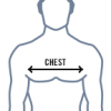 size guide chest graphic 100x100 - Sublimated Sports Polo