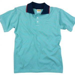 School uniform stripe Polo