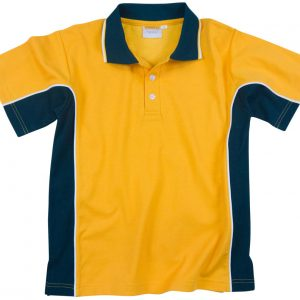 Green and Gold Panel polo image