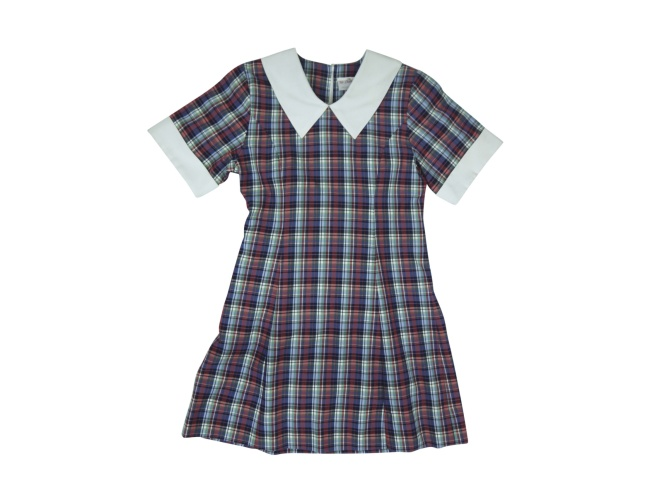 Image of the home and away school dress