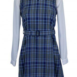 v-neck school tunic