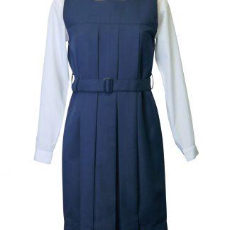 pleated school tunic